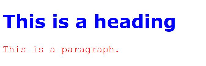 فونت ها در html