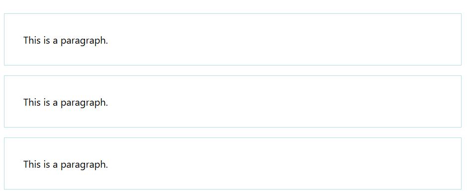 padding در html